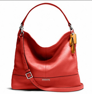 Coach Park Leather Hobo # 23293