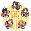 Attack on Titan Keychain - Paws Set