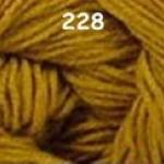 ไหมพรมดาหลา สีพื้น สี 228