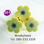 แท่ง Polymer Clay รูปดอกไม้ ลาย 501