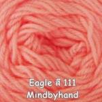 ไหมพรม Eagle กลุ่มใหญ่ สีพื้น รหัสสี 111