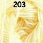 ไหมพรมดาหลา สีพื้น สี 203
