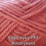 ไหมพรม Eagle eyes สี 743