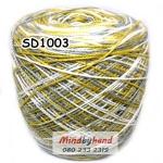 ไหมพรมเส้นอ้วน สีเหลือบ SD1003