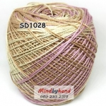 ไหมพรมเส้นอ้วน สีเหลือบ SD1028