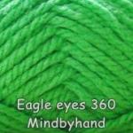 ไหมพรม Eagle eyes สี 360