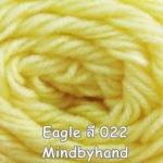 ไหมพรม Eagle กลุ่มใหญ่ สีพื้น รหัสสี 022