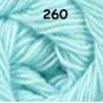 ไหมพรมดาหลา สีพื้น สี 260