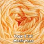 ไหมพรม Eagle กลุ่มใหญ่ สีพื้น รหัสสี 211