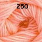 ไหมพรมดาหลา สีพื้น สี 250