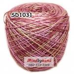 ไหมพรมเส้นอ้วน สีเหลือบ SD1031