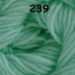 ไหมพรมดาหลา สีพื้น สี 239