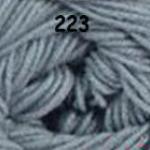 ไหมพรมดาหลา สีพื้น สี 223