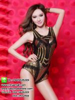 ชุดนักร้องสีดำ ชุดแดนเซอร์ ชุดกลางคืน ชุดเต้น cover ชุดแฟนซี ชุดคอสเพลย์ ชุดนักร้องเกาหลี ชุดเซ็กซี่
