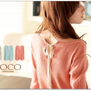 ♡♡Pre Order♡♡ เสื้อกันหนาวตัวยาว คอกลมช่วงแขนยาว ผ้าไหมพรมเนื้อหนาดี แอบเก๋ด้วยสายผูกตรงช่วงคอด้านหลัง สวยหรู น่ารักมากๆ ค่ะ