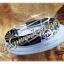 กำไลขนหางช้าง จับเงิน 92.5 size 8mm. thumbnail 6