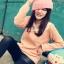 เสื้อไหมพรมคอบัวช่วงแขนยาว สีชมพูโอโรส สวย น่ารัก ใส่เป็นเสื้อคลุมกันหนาวได้จ้า thumbnail 1