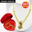 Inspire Jewelry ,สร้อยคอทองสังวาลย์นกยูงลงยา สวยงาม ปราณีต หุ้มทองแท้ 100% 24K พร้อมกล่องกำมะหยี่สวยหรู thumbnail 1