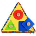 2SW-F734 สามเหลี่ยมจับคู่สีรูปทรงเรขา