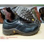 รองเท้าหนัง Caterpillar หนังแท้100% size 40-44 (สีดำ)