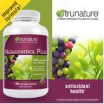 Resveratrol Plus 140แคปซูล เพิ่ม RedWine+GrapeSeed+GreenTea ดูแลหัวใจแข็งแรง+เส้นเลือดยืดหยุ่น+ควบคุมคลอเรสเตอรอล (มี1ขวด exp.11/2020)