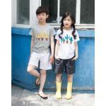 mu28 เสื้อ+กางเกง 3 ตัวต่อแพ็ค เด็กโต size 140-160