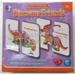PS-3044 Happy stitching เพื่อนในโดเสาร์ (Dinosaur Friends)