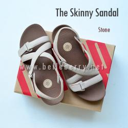 * NEW * FitFlop The Skinny Sandal : Stone : Size US 6 / EU 37