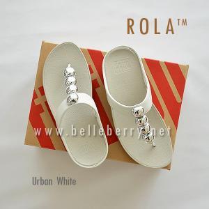 ** NEW ** FitFlop : ROLA : Urban White : Size US 6 / EU 37