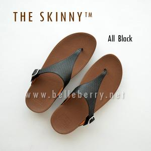 * NEW * FitFlop : The Skinny : All Black : Size US 8 / EU 39