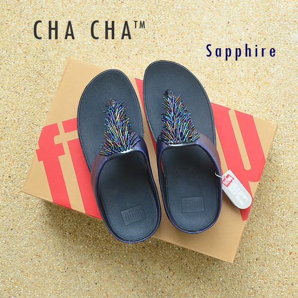 **พร้อมส่ง** FitFlop CHA CHA : Sapphire : Size US 7 / EU 38