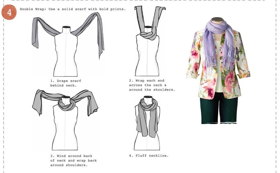 วิธีผูกผ้าพันคอ4