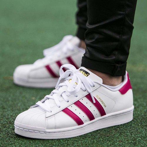 (พรีออเดอร์)adidas Originals Superstar Trainer Pink