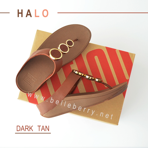 * NEW * FitFlop : HALO : Dark Tan : Size US 5 / EU 36