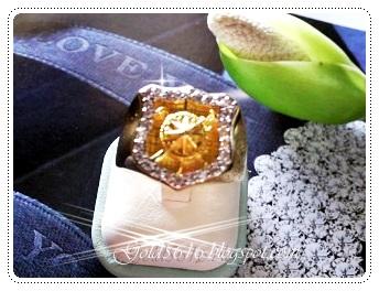 แหวนเพชร/gold plated 5microns/white gold plated