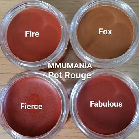 ขนาดจัดชุดเล็ก 4 ชิ้น 300 บาท MMUMANIA mineral makeup : Mini Custom Kit 4 pcs.(mmu 3 ชิ้น, pot rouge 1 ชิ้น)