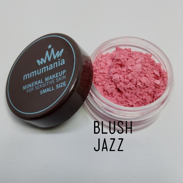 ขนาดเล็ก MMUMANIA Mineral Makeup Blush : Satin สี Jazz