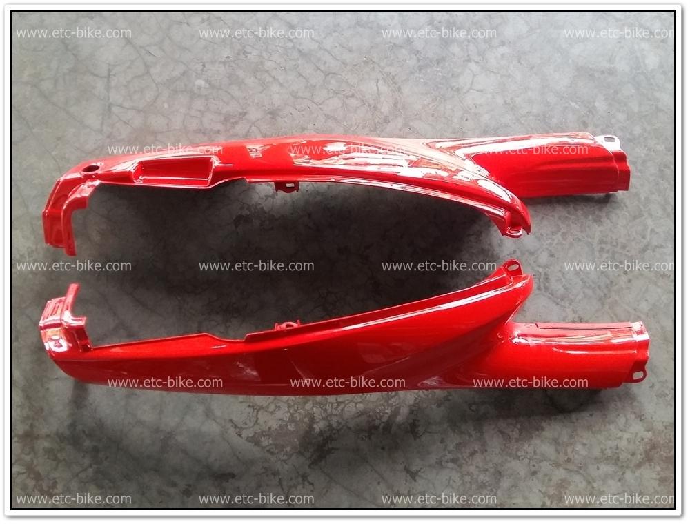 ฝาข้าง BELLE-100, BELLE-RM สีแดง