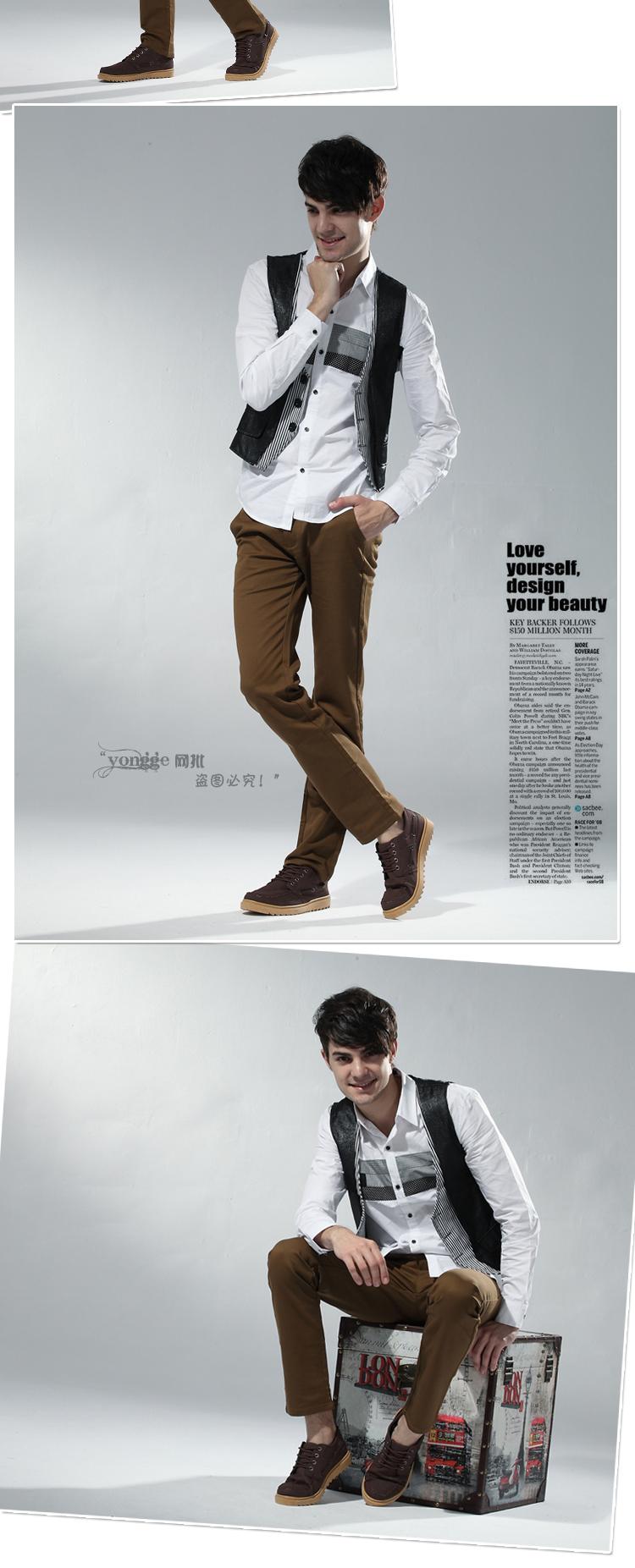 รองเท้าผู้ชาย | รองเท้าแฟชั่นชาย รองเท้าหนัง แฟชั่นเกาหลี