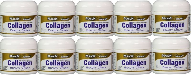 6 กระปุก Mason Natural Collagen Beauty Cream Made With 100% Pure Collagen