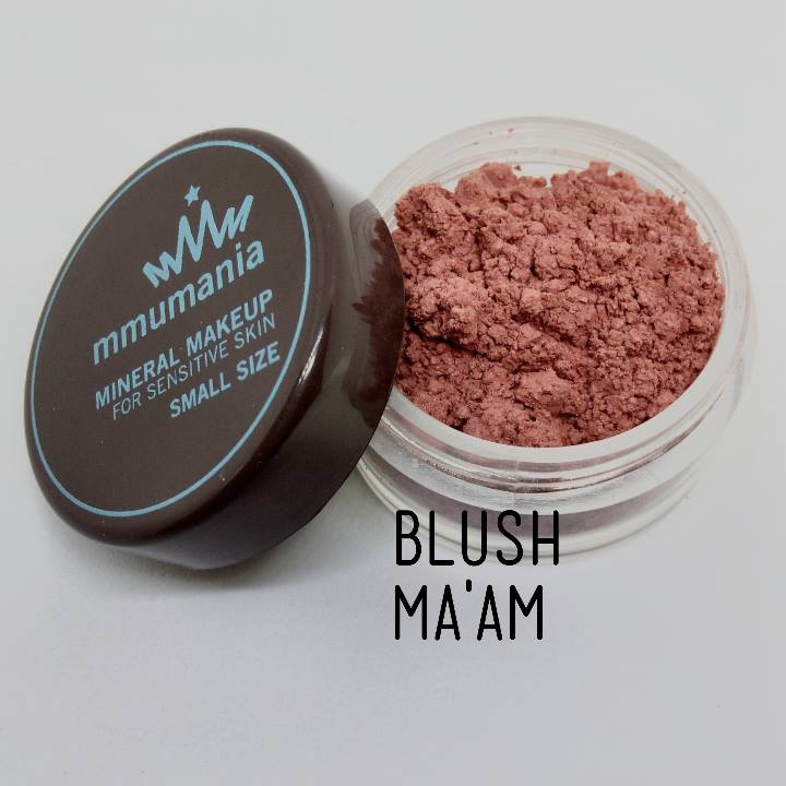 ขนาดเล็ก MMUMANIA Exclusive Blush : Clear Matte MA'AM