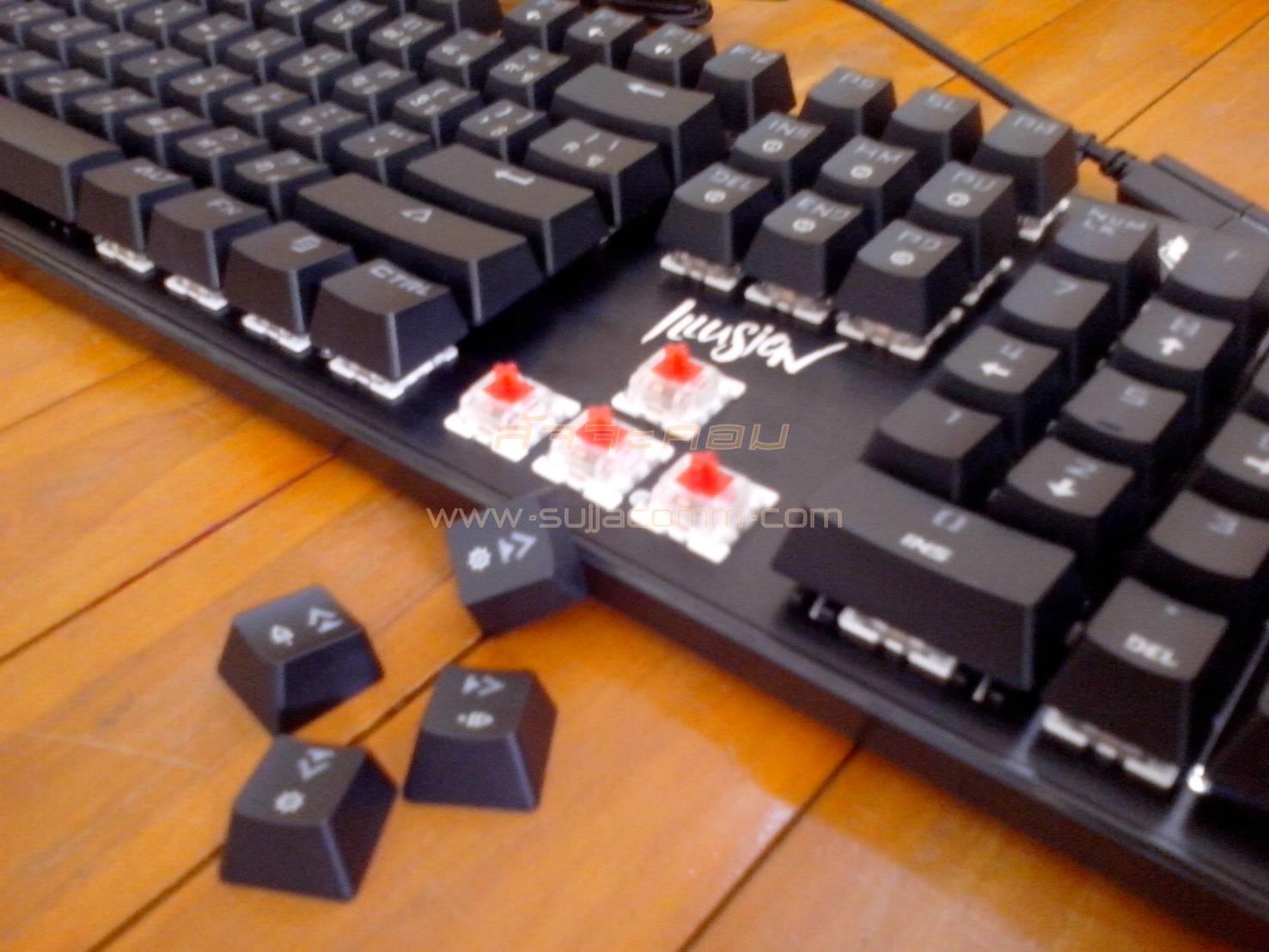 "USB Multi Keyboard ""Nubwo"" (NK-70) illusion (Outemu Switch Mechanical) (CIY) Gaming Keyboard"