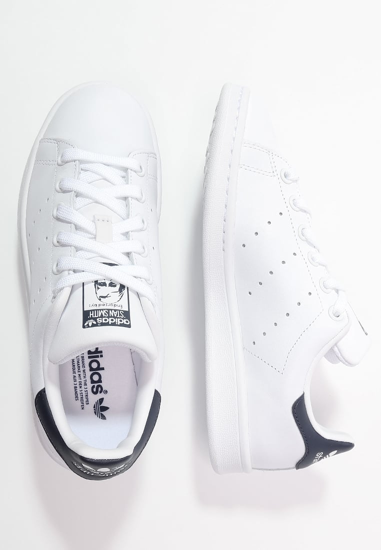 PRE ORDER adidas Originals STAN SMITH - Trainers - run white/new navy