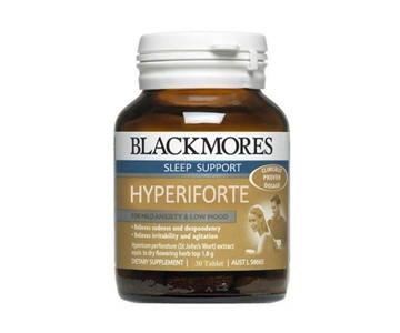 Blackmores Hyperiforte 30 เม็ด ช่วยในการนอนหลับ ลดความตึงเครียดของระบบประสาทและสมอง