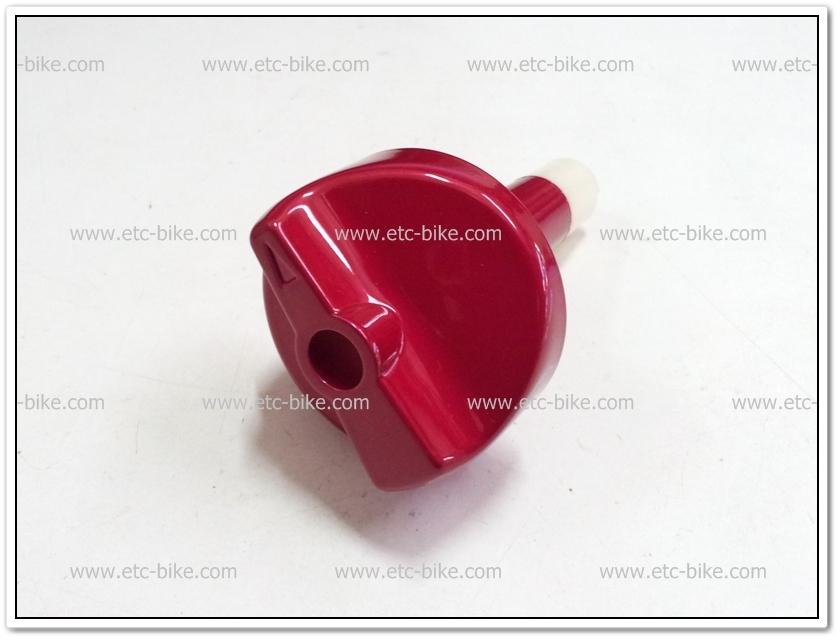 ลูกบิดก๊อกน้ำมัน TUXEDO สีแดง แท้ศูนย์