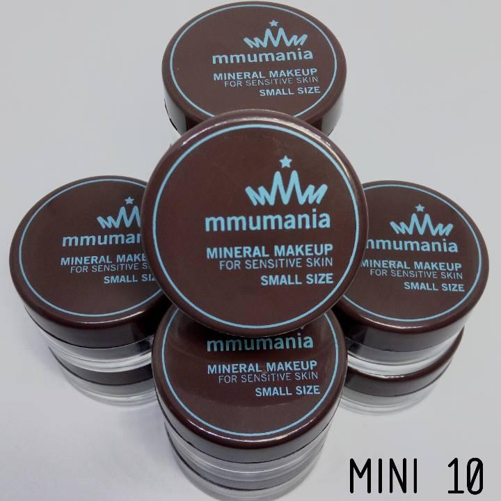 ขนาดจัดชุดเล็ก 10 ชิ้น 500 บาท MMUMANIA mineral makeup : Mini Custom Kit 10 pcs.