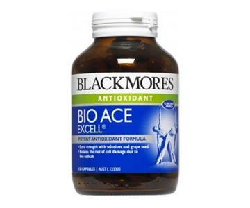 Blackmores Bio ACE 120 เม็ด บำรุงผิวพรรณ ช่วยชะลอความเสื่อมของเซลล์ผิว บำรุงร่างกาย เหมาะสำหรับผู้ที่มีความเครียดสูง ทำงานหนัก