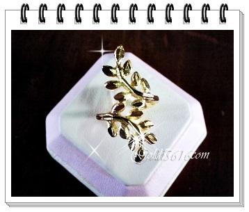 แหวนทอง Gold plated 2microns