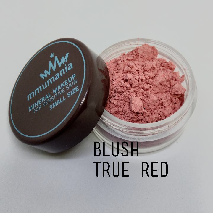 ขนาดกลาง MMUMANIA Exclusive Blush : Clear Matte TRUE RED