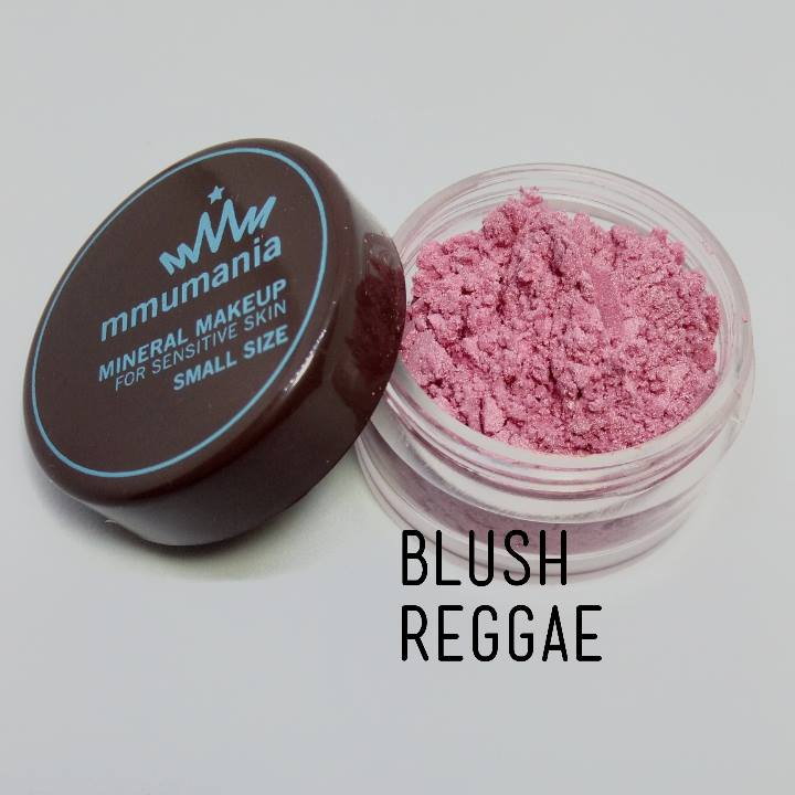 ขนาดกลาง MMUMANIA Mineral Makeup Blush : Satin สี Reggae